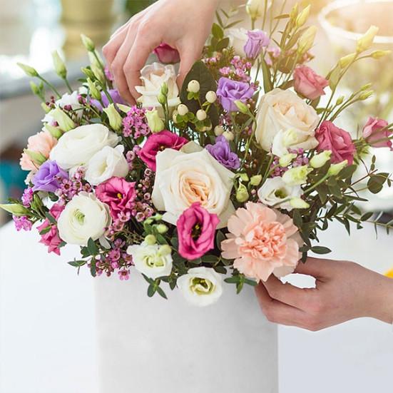 Σύνθεση Λουλουδιών - Ελεύθερη Επιλογή - Flowernet.gr