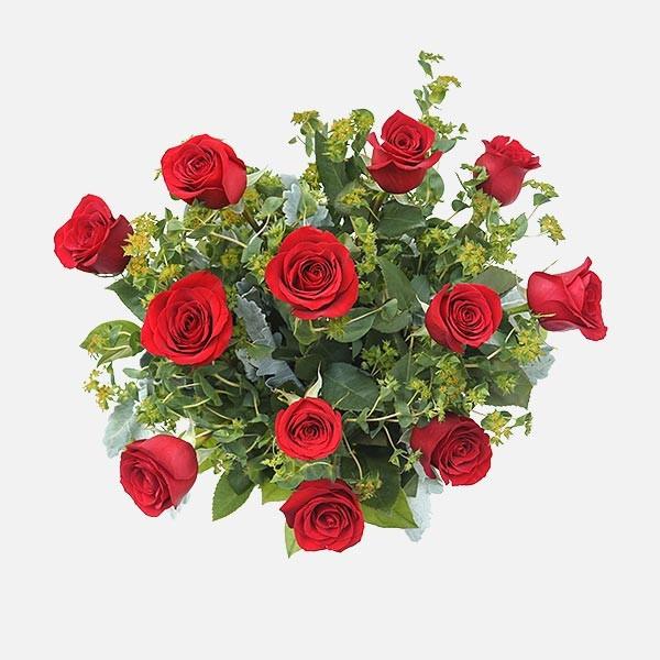Ντουζίνα Χαράς - Τριαντάφυλλα - Flowernet.gr