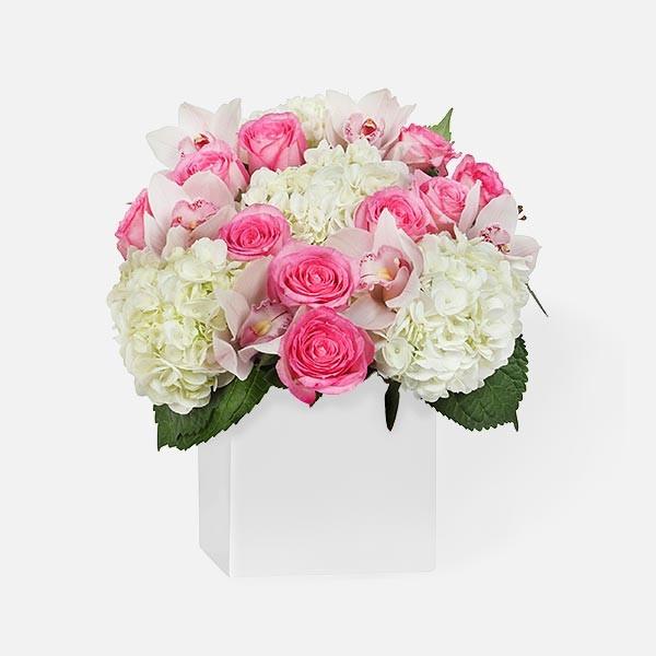 Μόνο για Σένα! - Τριαντάφυλλα Ορτανσίες Ορχιδέες - flowernet.gr