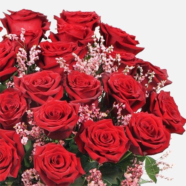24 Υπέροχα Τριαντάφυλλα (60cm) - flowernet.gr