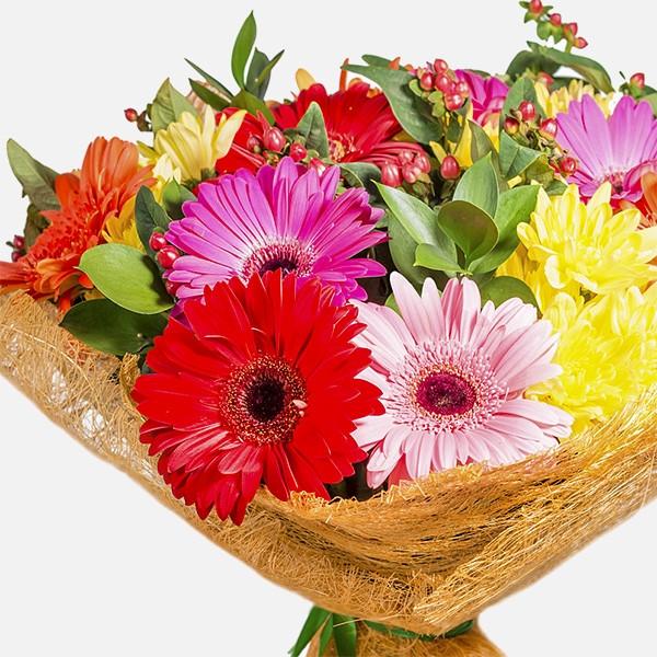 Bud and Blossom - Rosess Vandas - Flowernet.gr