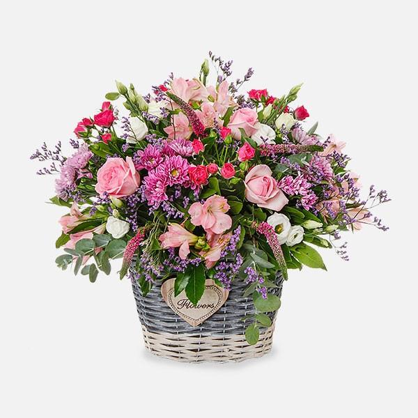 Ο Κήπος της Εδέμ - Τριαντάφυλλα Λυσίανθοι Αλστρομέριες Χρυσάνθεμα Βερόνικες - Flowernet.gr