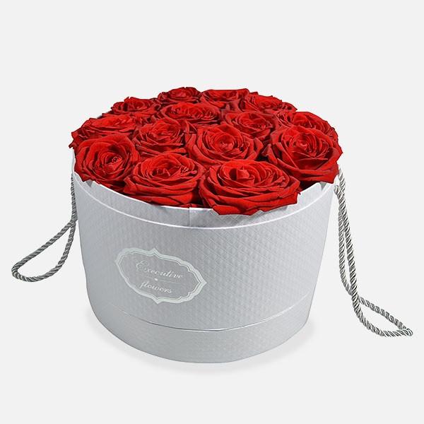 Καπελιέρα με 25 Τριαντάφυλλα - Flowernet.gr