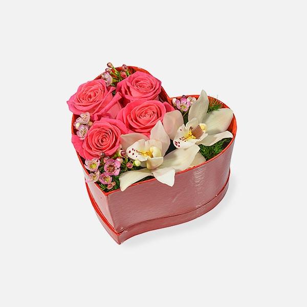 Love Me! - Τριαντάφυλλα Ορχιδέες - Flowernet.gr