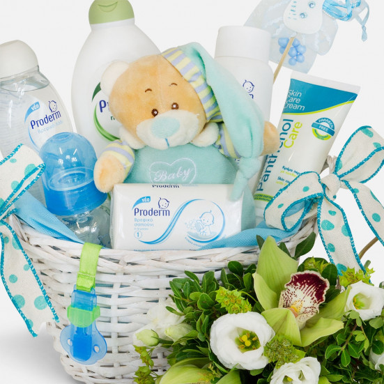Baby Boy Care - Flowernet.gr